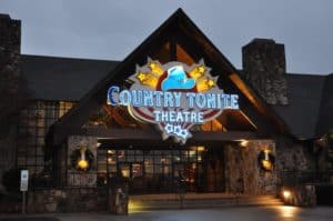 The Country Tonite Theatre, one of the places you can visit when you stay at our Gatlinburg cabin rentals with free attraction tickets.