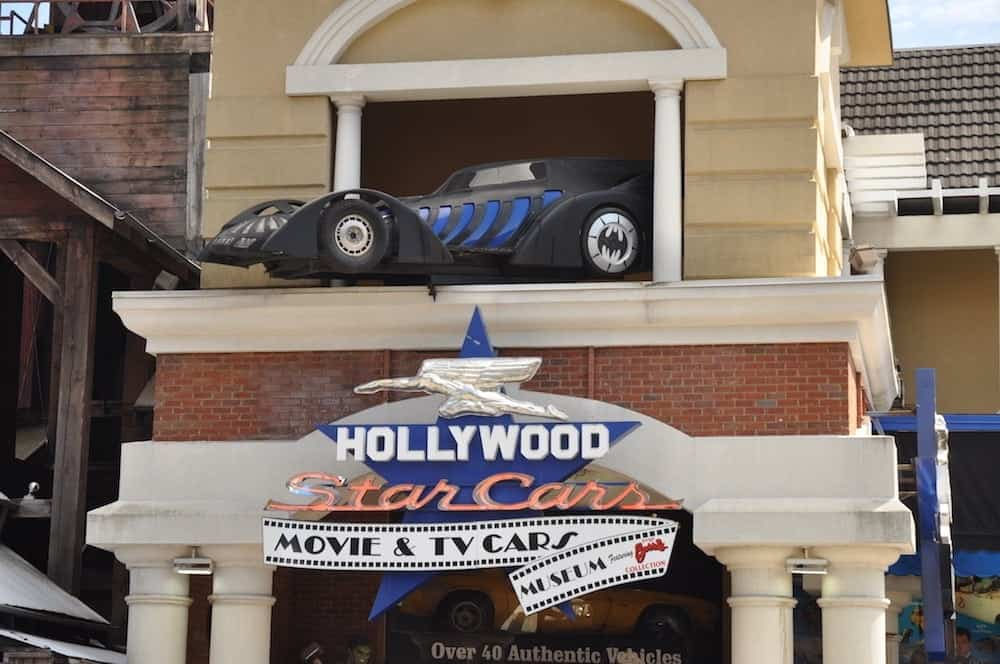 Hollywood Star Cars Museum in Gatlinburg.
