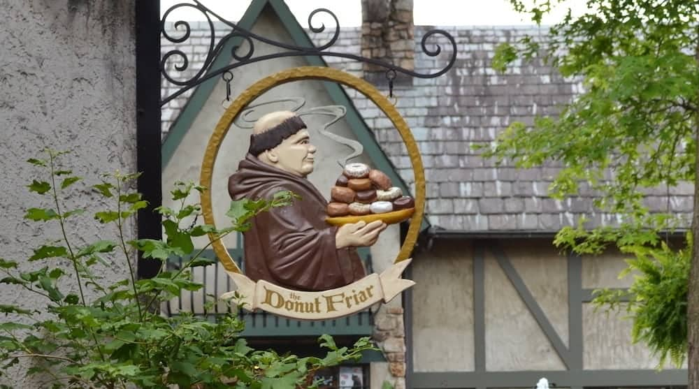 The Donut Friar in Gatlinburg TN.
