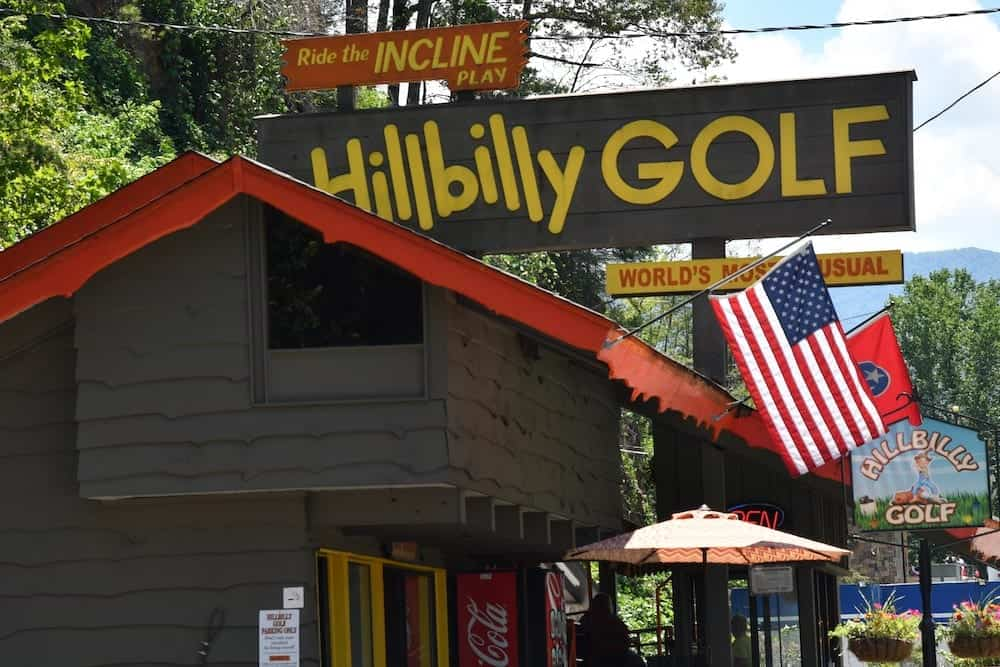 Hillbilly Golf in Gatlinburg